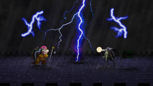 3D Sprite Image: Bowser VS Dr Doom