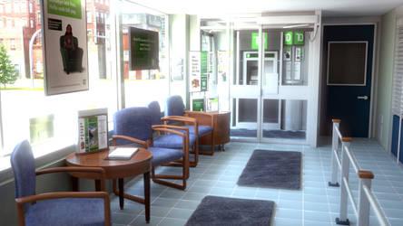 Bank Lobby 3 by Evexoian