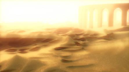 Barren Planet Version 1 by Evexoian
