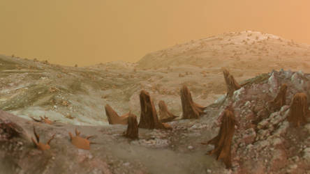 Barren Planet Version 3 by Evexoian