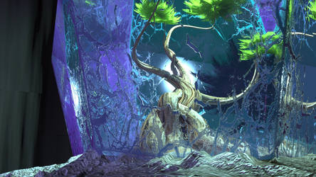 Crystal Tree Close by Evexoian