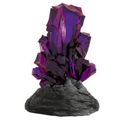 Purple Crystal by Evexoian