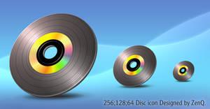 One Big Black Laserdisc.