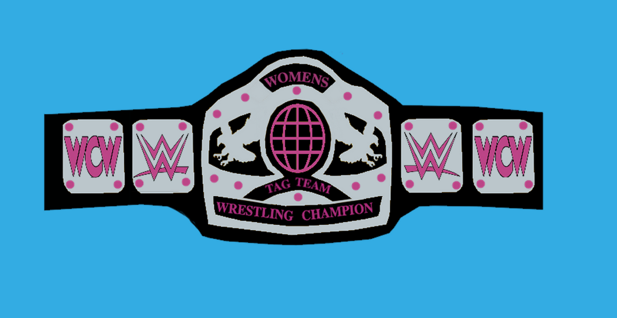 wwewcw animated womens tag team championship by