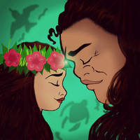 Moana and Maui: Bound by the Sea and Air