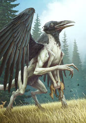 Ornitodrakon by Sergey-Averkin