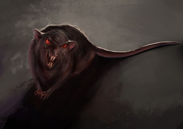evil rat by ViLebedeva