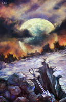 stephen king Lisey's story by ViLebedeva