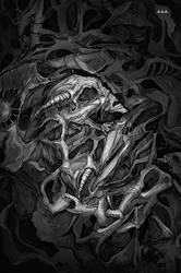 Skull art (black and white)