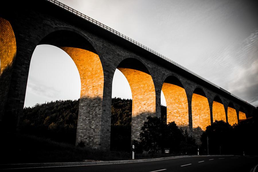 black, white and orange by DanielGliese