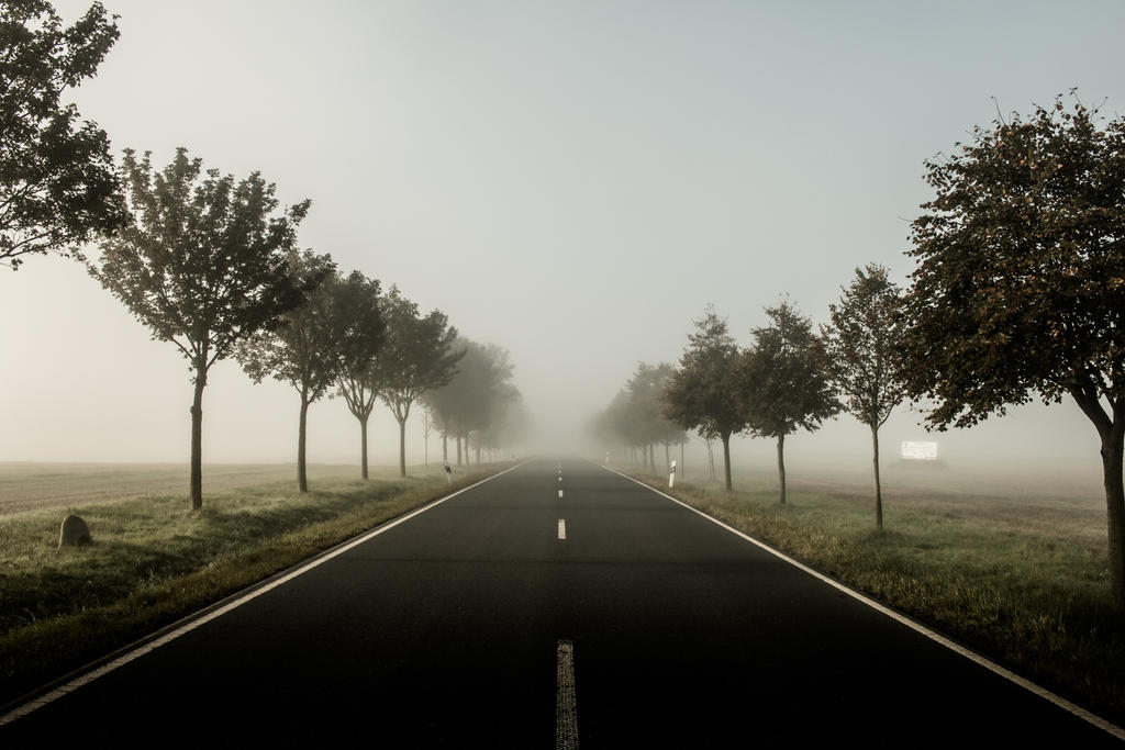 another foggy road by DanielGliese