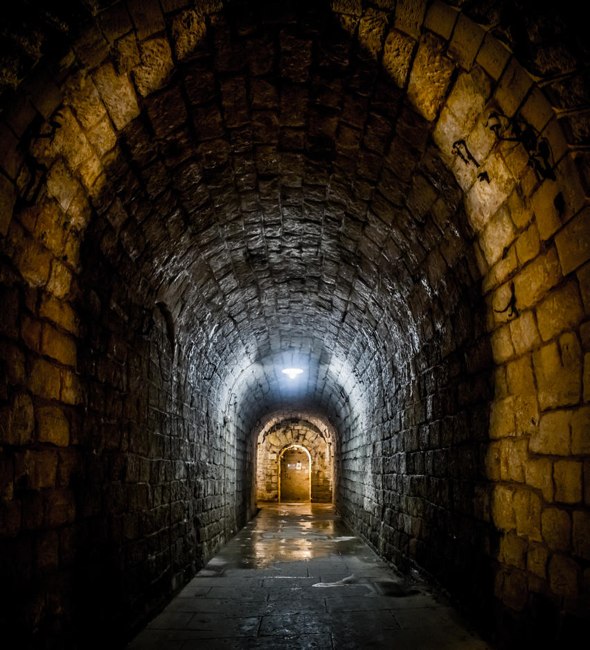 The tunnels of Fort Douamont 3 by DanielGliese
