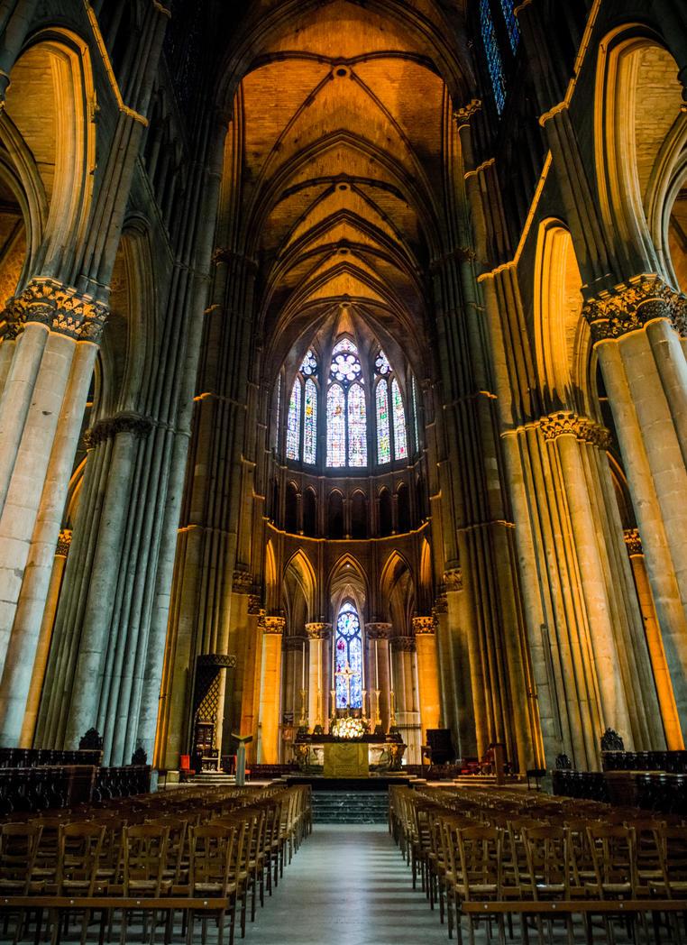 Notre-Dame de Reims 2 by DanielGliese