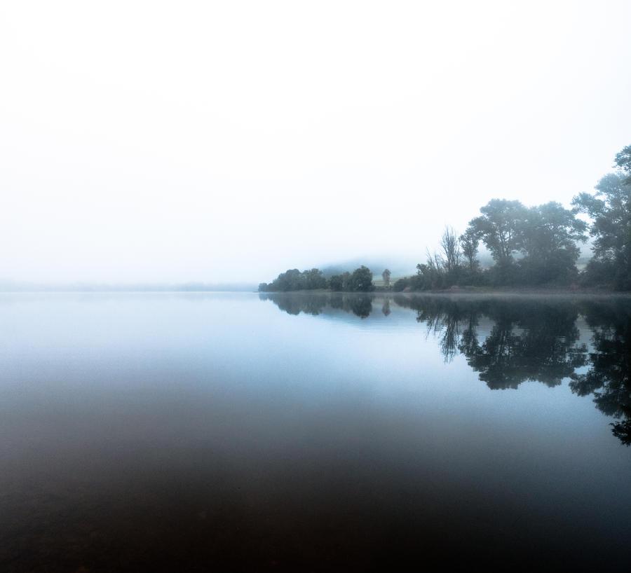 Foggy morning panorama by DanielGliese