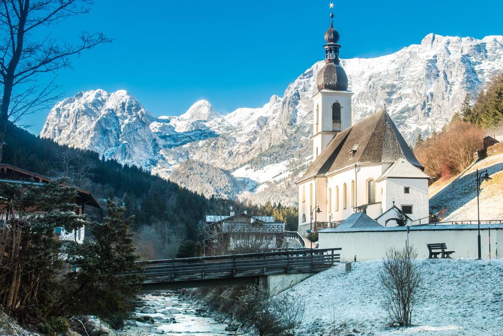 Parish Church of St. Sebastian, Ramsau, Bavaria by DanielGliese