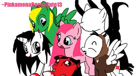 ~Creepypasta Is Magic~ by PinkamenaRocksCute13