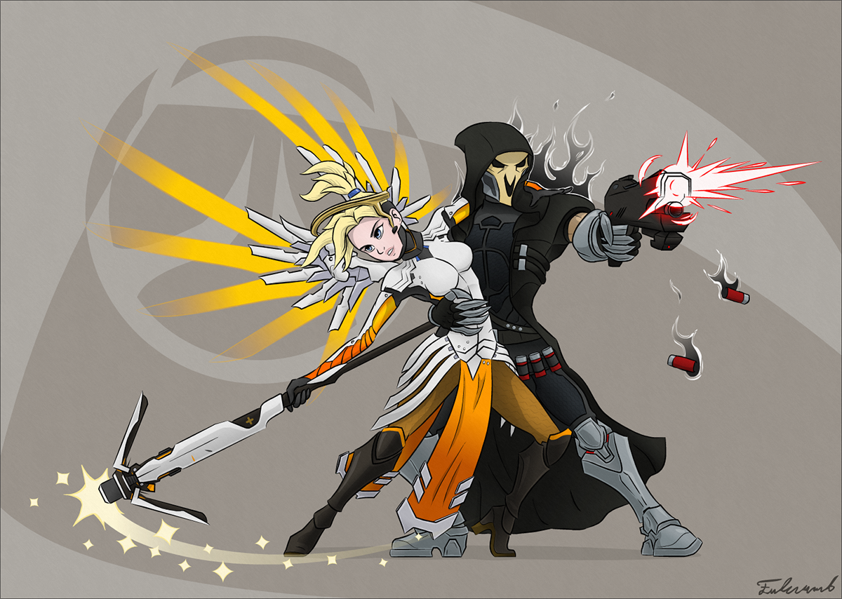 overwatch life and death tango by fulcrumb on deviantart