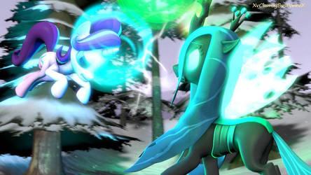 Starlight Glimmer VS Queen Chrysalis (Pony SFM)