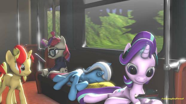 [Request] MLP Train Ride (Pony SFM)