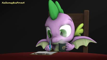 Spike At Work (Pony SFM)