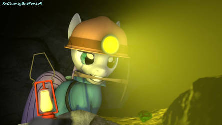 Maud Pie Goes Mining