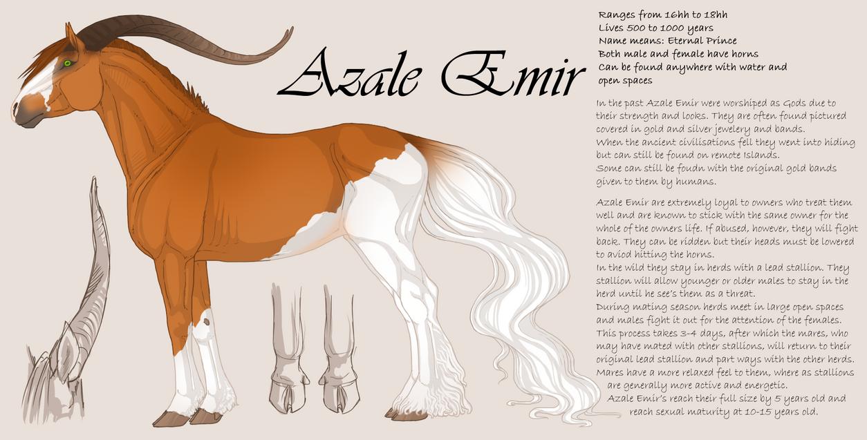 Azale Emir by horsy1050