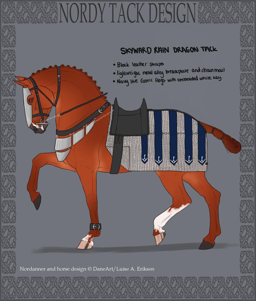skyward rain dragon tack by horsy1050