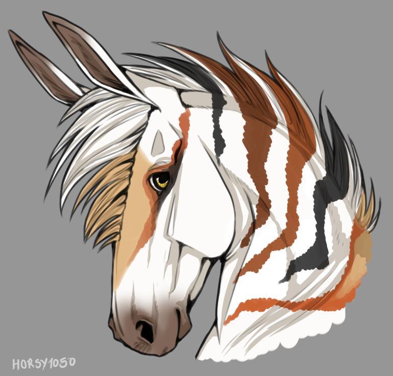 Ral heashot thingy by horsy1050