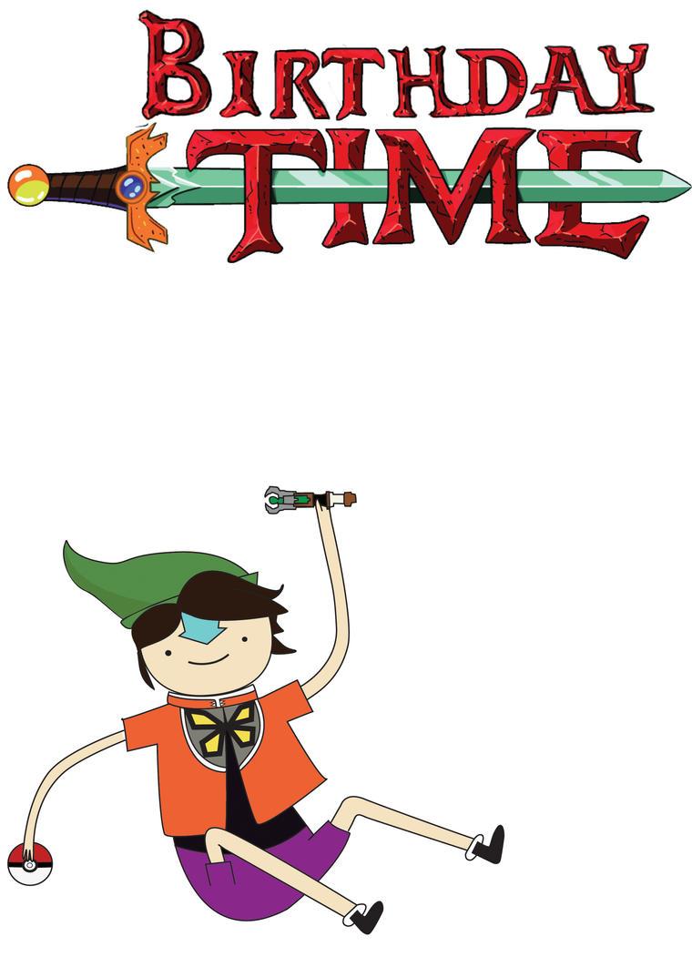 Adventure Time Birthday Card By Gigifobo On DeviantArt