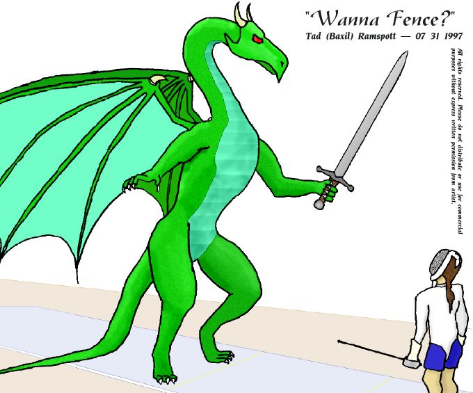 Wanna Fence? by baxil