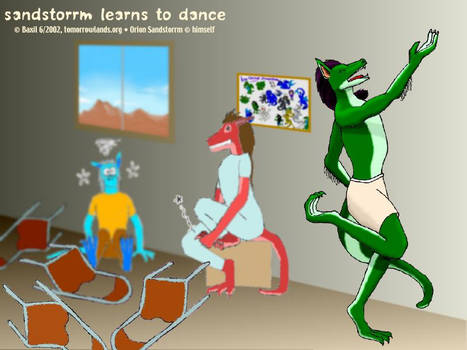 Sandstorrm Learns To Dance