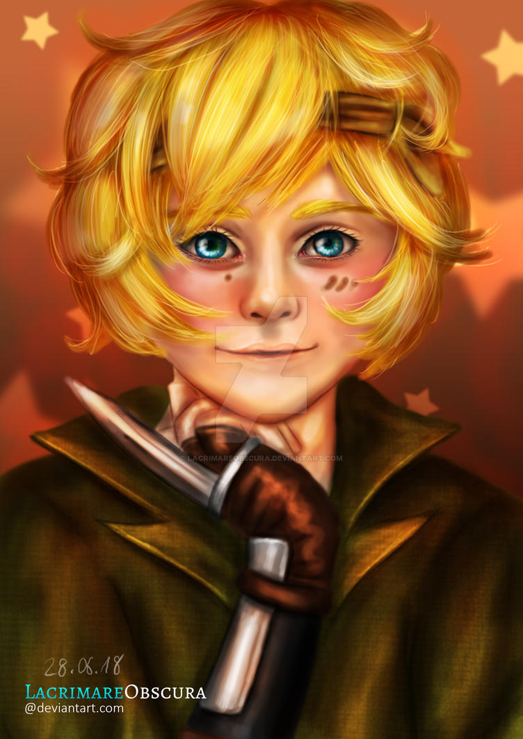 Pirate Boy Falx (Free Request) by LacrimareObscura