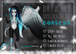 Draw Species or OC Contest (CLOSED) $200+ value by LacrimareObscura