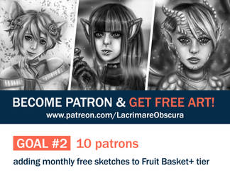 Patreon Goal 2 (6/10) by LacrimareObscura