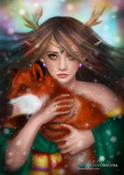 Leila the forest spirit (secret santa gift)