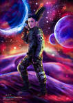 Space Expedition (Commission) by LacrimareObscura