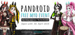 PANDROID SUBRACE FREE MYO EVENT +GIVEAWAY (OPEN) by LacrimareObscura