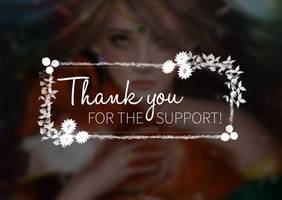 Thank You For The Support by LacrimareObscura