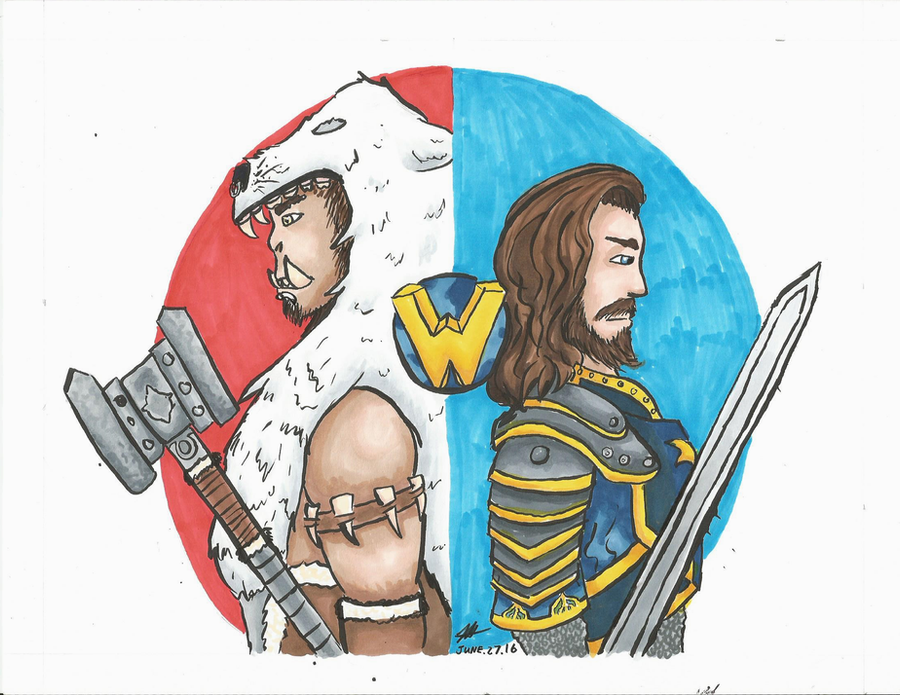 Warcraft Art (Speed Drawing) by RynnLight
