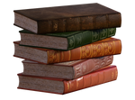 FREEBIE STACKED BOOKS PNG OVERLAY