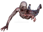 Zombie 4, png overlay.