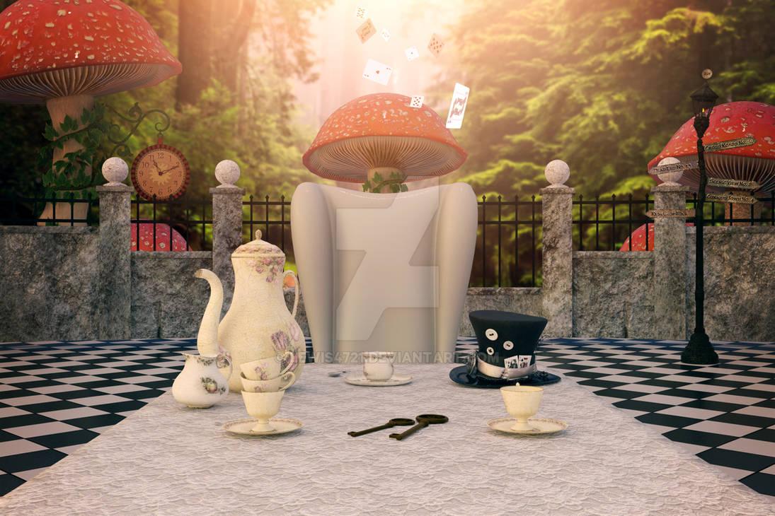 Wild Wonderland Digital Backdrop / Background.