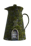 Mossy Jug House, Png Overlay.