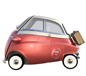 Red Egg Car 2, Png Overlay.