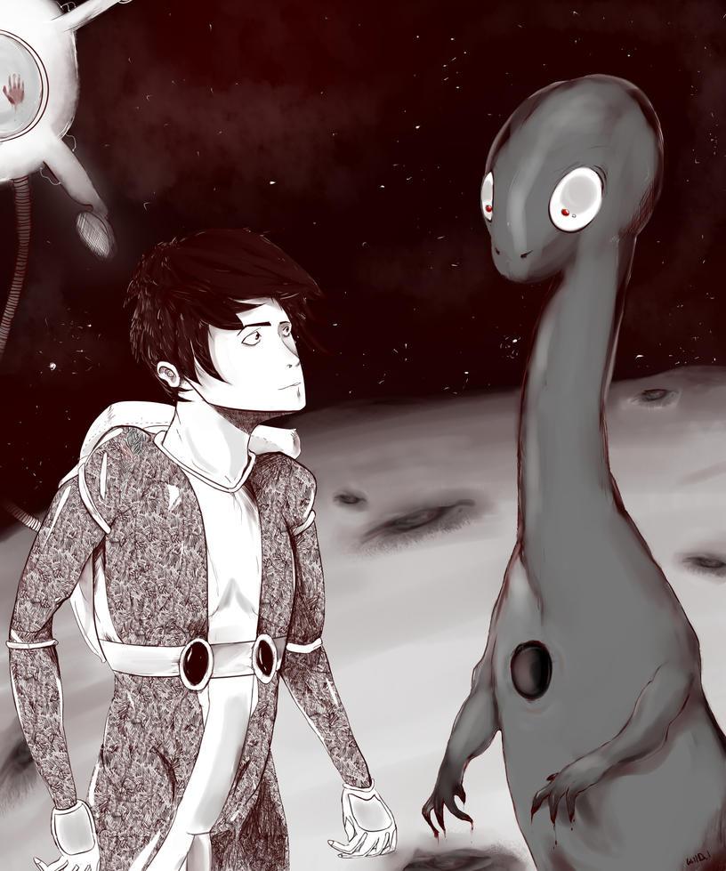 Uno strano incontro by WillDil