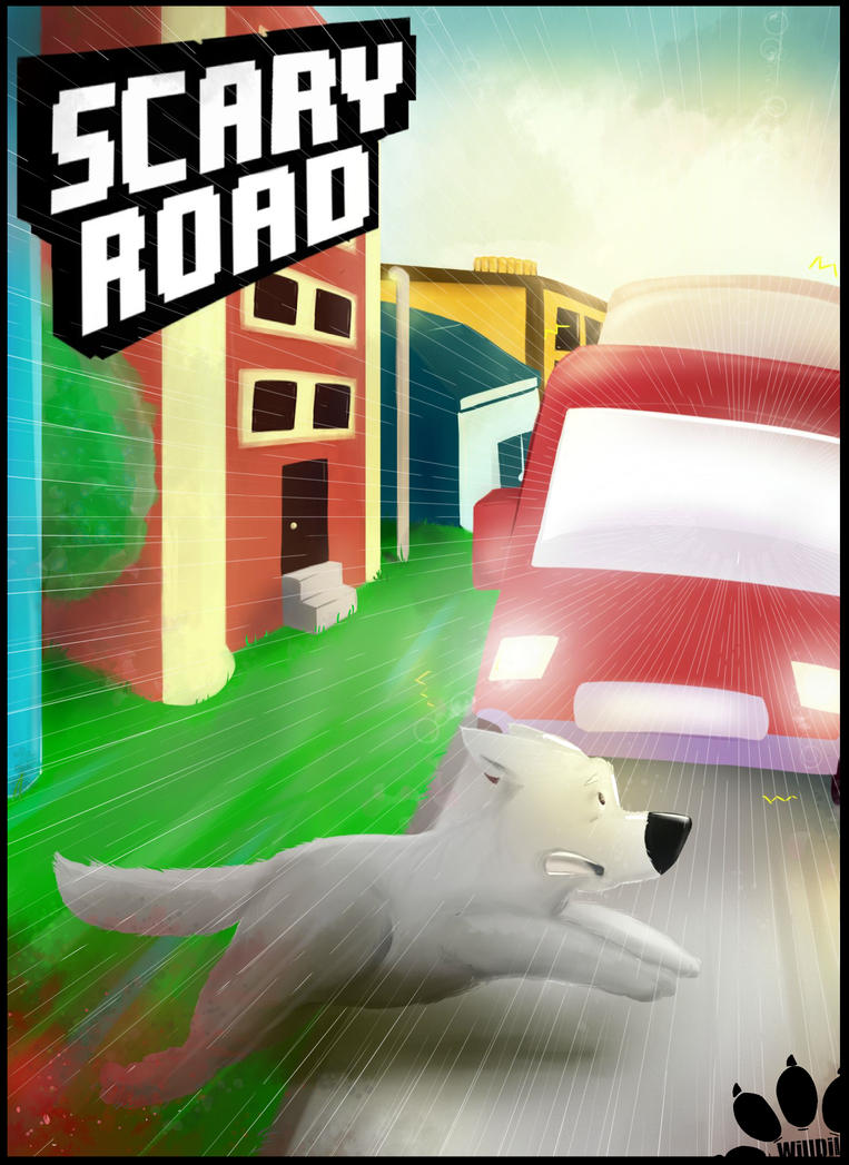 Scary Road by WillDil