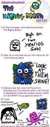 The Mighty Boosh Meme by wackiest