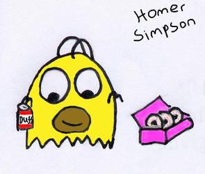 Homer Simpson by wackiest
