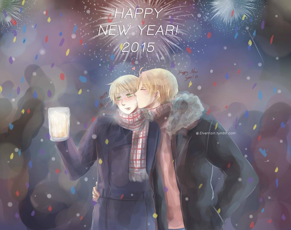 Happy 2015!! by Elvenrain