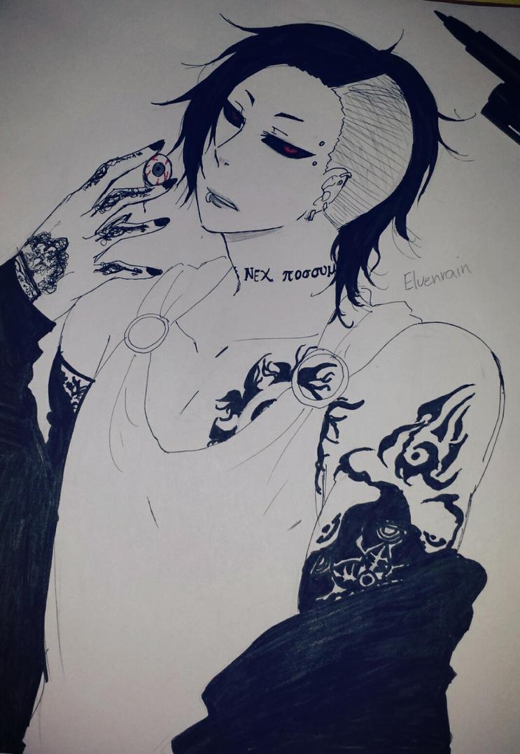 Ink: Uta by Elvenrain